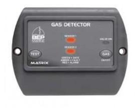 600-GDL Detector de gas Contour Matrix, con señalización luminosa y 2 botones de servicio. vista frontal