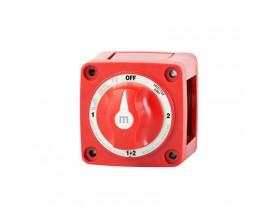 6007-BSS Desconectador de batería con selector M - 4 posiciones - 300A - Color rojo