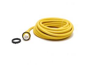 Cable eléctrico, 32A, 220V, 50 Hz, 15,24 metros