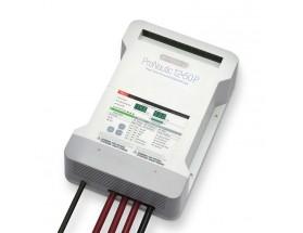 63150 Cargador de baterías marino de 50 amperios, 12VCC y 3 salidas, combina el control digital de la carga con tecnología de conversión por software con funciones de gestión global de la energía.