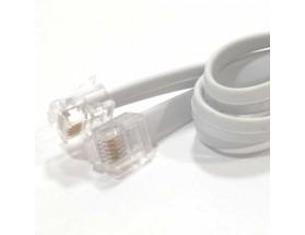 Cable de comunicación/sincronización RJ12, 3 metros