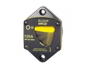Interruptor de circuito Serie 187, panel, 120A
