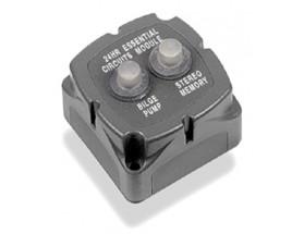 Disyuntores protección 706-2W, 2x10A