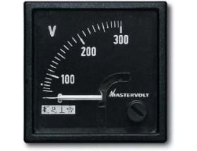 Voltímetro analógico CA, 0-300V