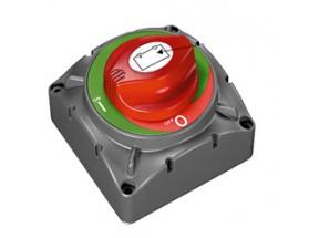720 Desconectador baterías 1p, ON/OFF, 600A. interruptor en color rojo