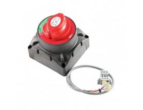 720-MDO Desconectador baterías 500A 12/24V. reduce el recorrido del cable hasta el motor de arranque, reduce las pérdidas de voltaje y evitándose el uso de cables de gran sección. Vista frontal