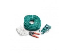 Kit para fabricar cables de comunicaciones RJ45 Masterbus