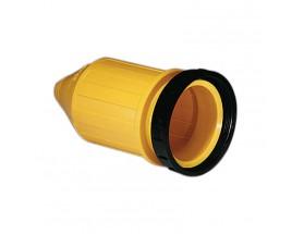 Protector estanco con anillo de bloqueo roscado para toma 50A