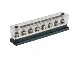 Barra de distribución de 8 pernos y tapa - 650 amperios