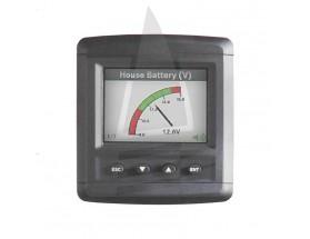 """80-600-0021-00 Monitor de sistema eléctrico DCSM. Monitor color 2.8"""" LCD QVGA para la supervisión de información obtenida de diversas fuentes. Vista frontal"""