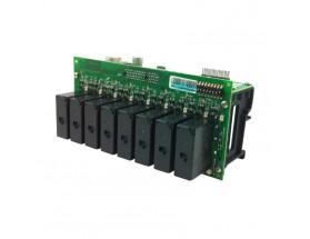Interface de 8x50A salidas CA (ACOI) para montaje en raíl DIN, negro