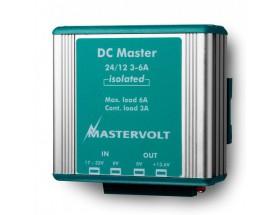 81400100 Convertidor DC Master 24/12-3A. Convertidor económico con ranura ancha de entrada y salida estabilizada. Versión no aislada con conexión faston