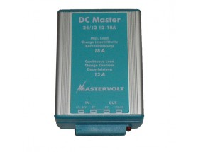 81400300 Convertidor DC Master 24/12-12A. Convertidor económico con ranura ancha de entrada y salida estabilizada. Versión no aislada con conexión faston
