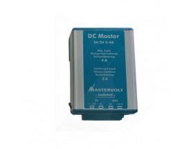 81500400 Convertidor DC Master 24/24-3A - Aislado. on ranura ancha de entrada y salida estabilizada. Versión  aislada. Conexiones mediante faston.