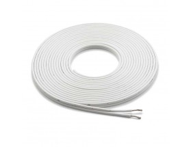 XM-WHTSC12-25 - Cable de altavoz conductor paralelo, 7.6m, blanco, 12AWG