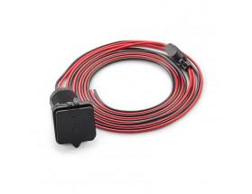 XMD-USBCHG/2X-PNL - Jack de carga USB doble para montaje en panel