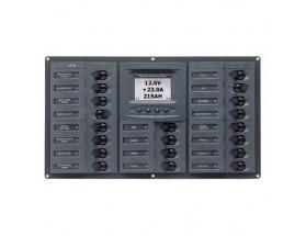 Cuadro eléctrico 903-DCSM, 20 interruptores, 12V