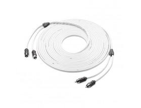 XMD-WHTAIC2-25 - Inteconexión de audio, 2 canales, 7.6m