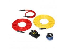 XMD-PCS50A-1-L10 - Kit de conexión alimentación Premium 12V, 6 AWG, 3.5m