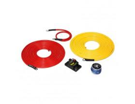 XMD-PCS50A-1-L20 - Kit de conexión alimentación Premium 12V, 6 AWG, 6m