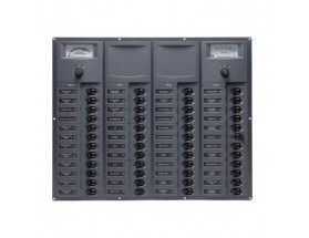 Cuadro eléctrico 907-AM, 48 interruptores, 12V