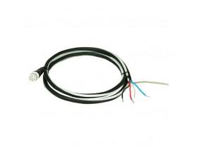 Derivación a cables pelados, 1 metro