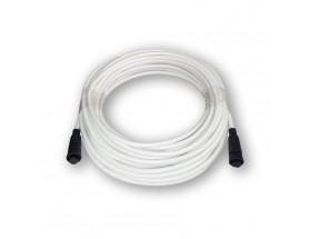 A80310 Cable de datos para radar inalámbrico Quantum Q24C, de 15 metros en color blanco con los conectores en negro