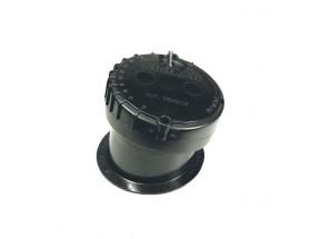 A80373 Transductor P79S , fabricado en plástico, de instalación interior, muestra datos de profundidad.