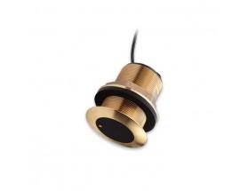 Transductor CPT-S de bronce, pasacascos, cónico, CHIRP alto, 0º