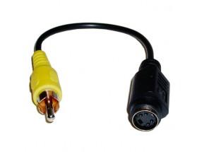 ACPTRSV Adaptador RCA a M/MiniDIN4-H