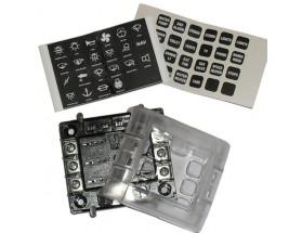 Caja 6 fusibles c/terminales tornillo