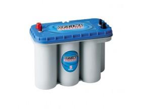 BAT/28438 Batería OPTIMA Blue BTDC5.5, 75Ah. Con el electrolito en forma de gel la evaporación de éste es menor, por lo que aumenta su durabilidad y permite un mayor número de ciclos de carga y descarga