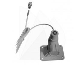 C-9054 Base de nylon 9054 para antena VHF FastFit. Incluye conector RG-5 para una instalación rápida.
