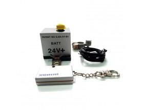 Desconectador de baterías con control remoto, 24V