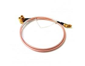 Cable coaxial RD316 SMA macho a QMA macho
