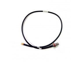 Cable coaxial RG58 TNC jack hembra a SMA-S macho