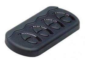 CG2-4W Panel interruptores CG2-4W. Panel de 4 interruptores de formato botonera. No incluye fusible
