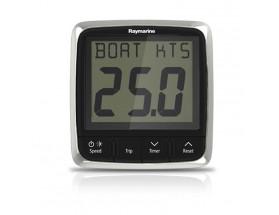 E70058 i50 - Corredera digital. Proporciona toda información sobre la velocidad de su embarcación, tanto la actual, como la máxima así como la media tanto en nudos (KTS), en millas por hora (MPH) como en kilómetros por hora (KPH). Vista frontal