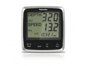 E70060 i50 - Instrumento Tridata digital. Proporciona datos sobre profundidad en pies o metros, permite definir los umbrales para la alarma de aguas poco profundas, alarma de profundidad, alarma de ancla tanto aguas profundas como profundas.  También faci