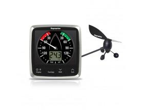 E70150 Sistema de viento completo i60: Display con veleta y cable. Combina  datos digitales de velocidad y analógicos de dirección.