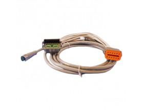 Cable en Y para conexión de ECI-100 a motores Caterpillar - 12 pines