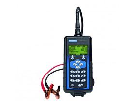 EXP-1000HD Sistema de diagnosis eléctrica. Incluye 3 metros de cable y maletín. Vista frontal de la pantalla y los botones de servicio