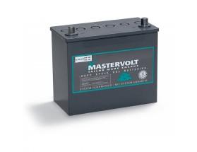 64000550 Batería MVG (Gel) 12/55Ah. Con el electrolito en forma de gel la evaporación de éste es menor, por lo que aumenta su durabilidad y permite un mayor número de ciclos de carga y descarga. Vista en perspectiva lateral