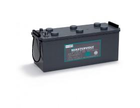 64001200 Batería MVG (Gel) 12/120Ah. Con el electrolito en forma de gel la evaporación de éste es menor, por lo que aumenta su durabilidad y permite un mayor número de ciclos de carga y descarga. Vista en perspectiva lateral