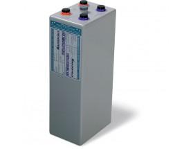 68001250 Vaso de gel MVSV de 2V-1250Ah. Ideal para sistemas fotovoltaicos aislados. Vista en perspectiva lateral