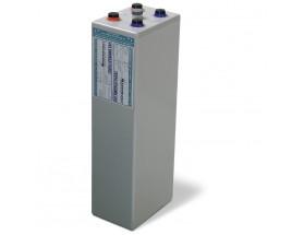 68001500 Vaso de gel MVSV de 2V-1500Ah. Ideal para sistemas fotovoltaicos aislados. Vista en perspectiva lateral