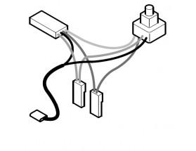 G755 Kit potenciometro sonda cable luz R-cab
