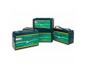 GP210 Batería AGM Green Power, 12V 210Ah. Batería de servicio de alto rendimiento, con tecnología AGM (fibra de vidrio absorbida) y diseñada para su uso en vehículos de servicio o de recreo.
