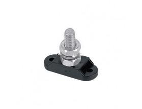 Tornillo de conexión con base aislada, 8mm x 1, negro