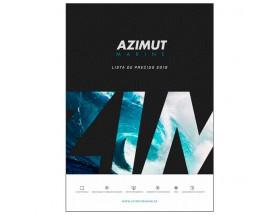 LISTA0010 Lista de precios Azimut Marine, 58 páginas a color.